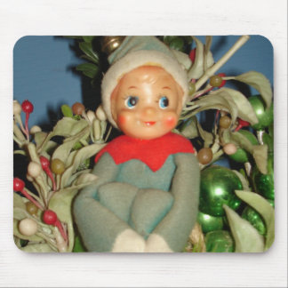 Christmas Pixie Mouse Pad