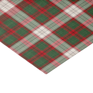 Christmas Plaid pattern tissue paper