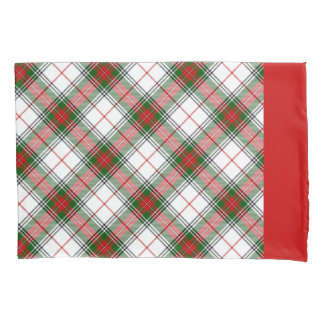 Christmas Plaid ~ Personalized Pillowcase