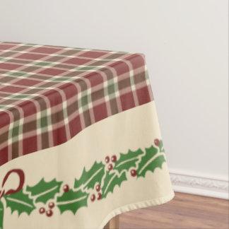 Christmas Plaid Tablecloths Rectangular