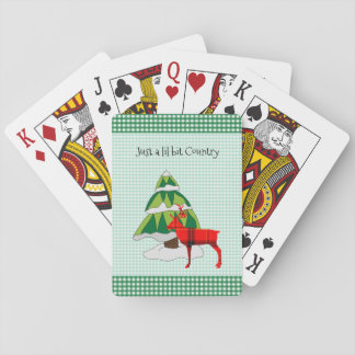 CHRISTMAS PLAYING CARDS