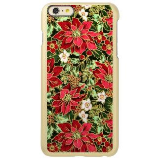 Christmas Poinsetta iPhone 6 Plus Incipio case