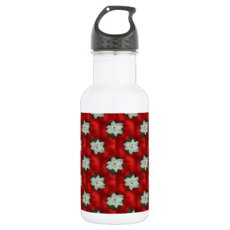 Christmas Poinsettia 532 Ml Water Bottle