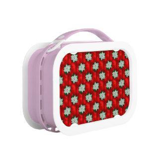 Christmas Poinsettia Lunch Box