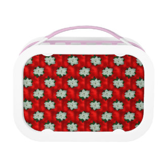 Christmas Poinsettia Lunch Box