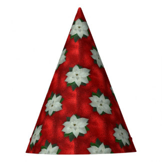 Christmas Poinsettia Party Hat