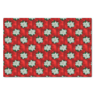 Christmas Poinsettia Tissue Paper