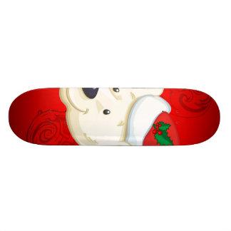 Christmas polar bear skate boards