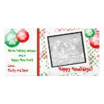 Christmas Polaroid Photo Cards