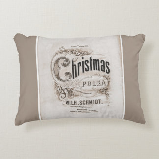 Christmas Polka Pillow
