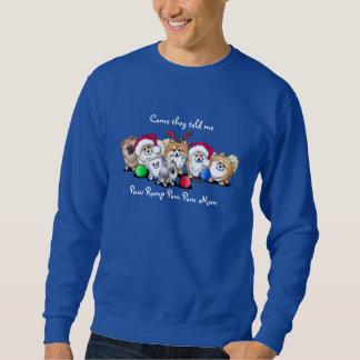 Christmas Pom Mom Sweatshirt