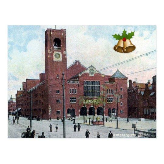Christmas Postcard - Amsterdam