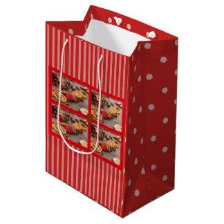 Christmas Potpourri Decorative Holiday Gift Bag