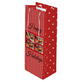 Christmas Potpourri Holiday Wine Gift Bag