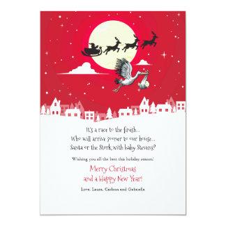 Christmas Pregnancy Holiday Card