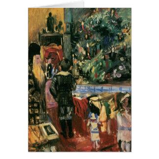 Christmas Present by Lovis Corinth Card