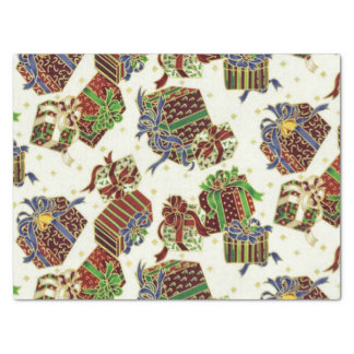 Christmas present Holiday pattern tissue paper