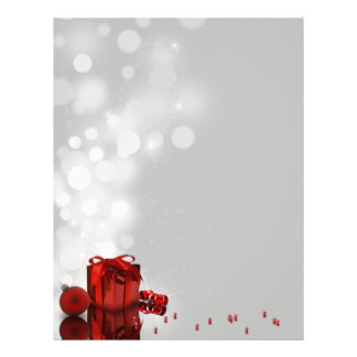 Christmas Present - Stationery Letter Paper