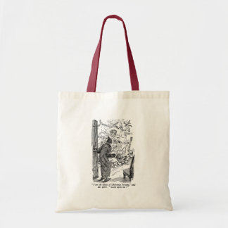 Christmas Present (with text) Tote Bag