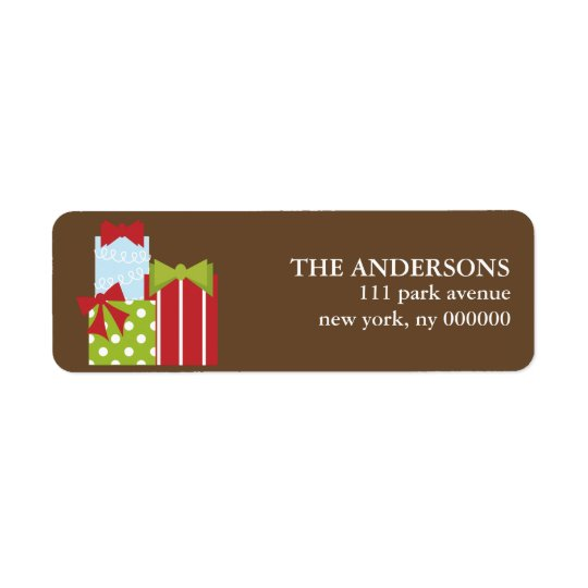 Christmas Presents Labels