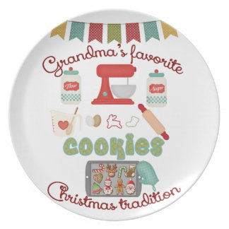 Christmas Products - Grandma's Favorite Christmas Dinner Plates