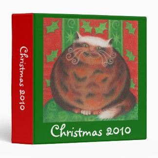Christmas Pud 'Christmas 2010' custom binder