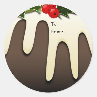 Christmas Pudding Gift Tags