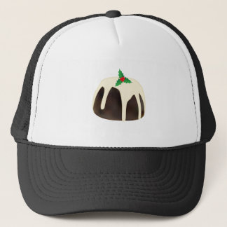 Christmas Pudding Trucker Hat
