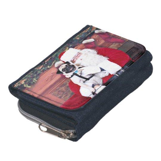 Christmas - Pug - Harvey Wallet