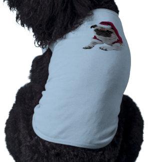 Christmas pug - santa claus dog - dog claus shirt