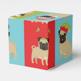 Christmas Pugs 2016 (1) Favor Box