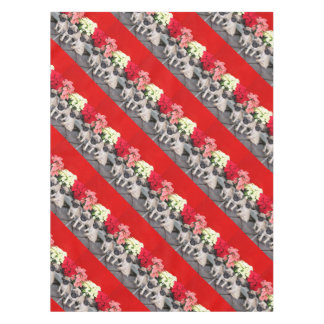 Christmas puppies table cloth