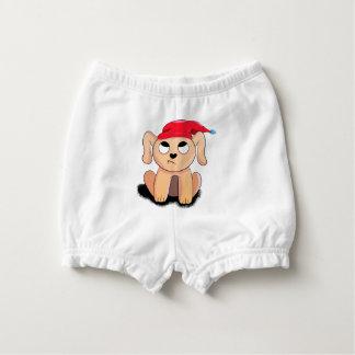 Christmas puppy diaper cover
