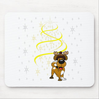 Christmas Pups Mouse Pad