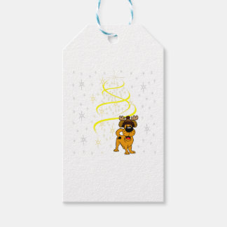 Christmas Pups Pack Of Gift Tags