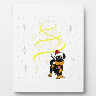 Christmas Pups Plaque
