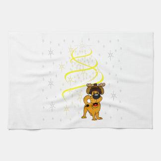 Christmas Pups Towel