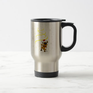 Christmas Pups Travel Mug