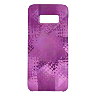 Christmas purple halftone star Case-Mate samsung galaxy s8 case
