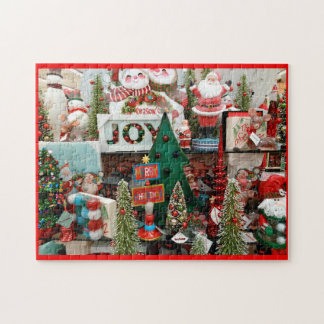 Christmas Puzzle Santa Snowman Tree Joy 252 pc