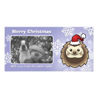 Christmas Pygmy Hedgehog Card