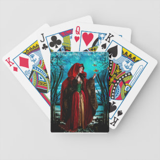 CHRISTMAS QUEEN BICYCLE PLAYING CARDS