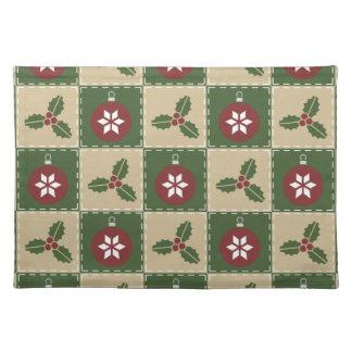Christmas Quilt Place Mat