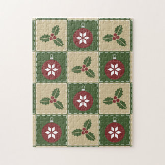Christmas Quilt Puzzle