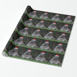 Christmas Raccoon Holiday Wrapping Paper
