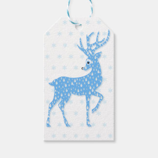 Christmas RainDeer (Reindeer) Gift Tags Pack Of Gift Tags