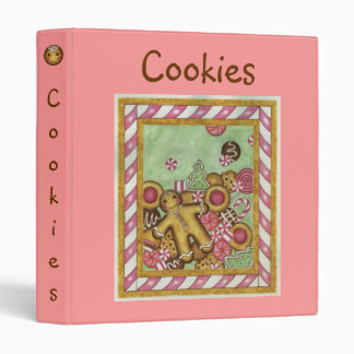 Christmas  Recipe Binder Gingerbread Cookies