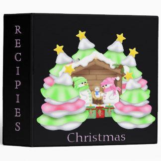 Christmas Recipies Avery Binder