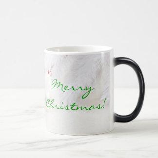 Christmas Red And White Merry Christmas I Mug