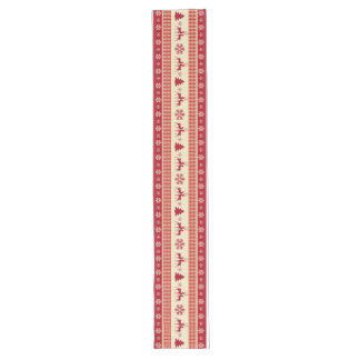 """Christmas red and white table runner 16"""" x 108"""""""